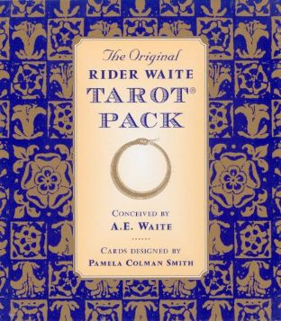 Original Rider Waite Tarot Card Set (Book & Deck)